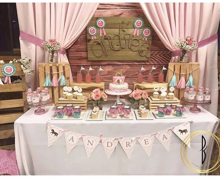 Cowgirl Birthday Party Rodeo Birthday Parties In 2019