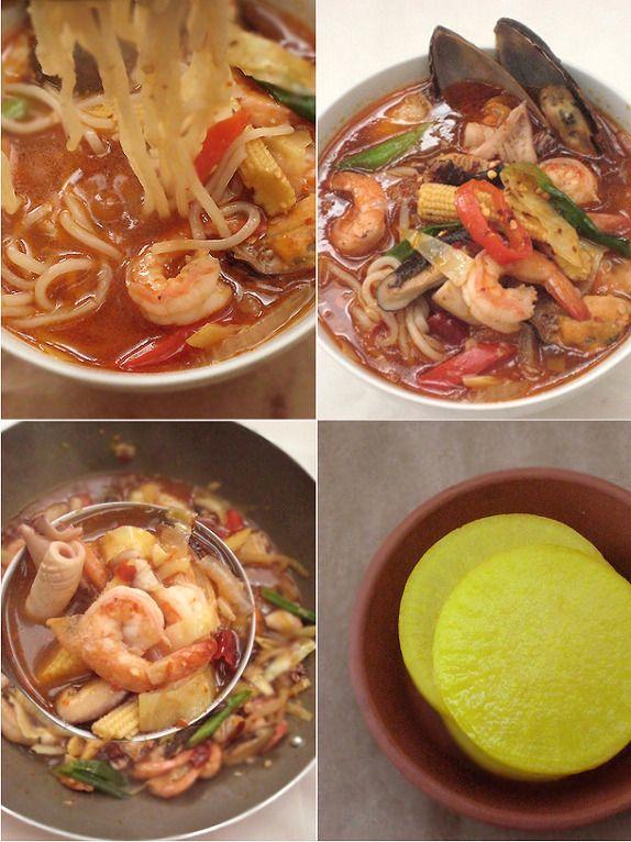 spicy noodle , 해물짬뽕    korean food , http://blog.daum.net/aspoonful