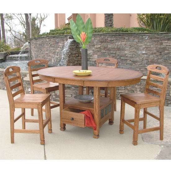 Sedona Oval Butterfly Table Dining Room Furniture Tucson Az Furniture Connextion For The