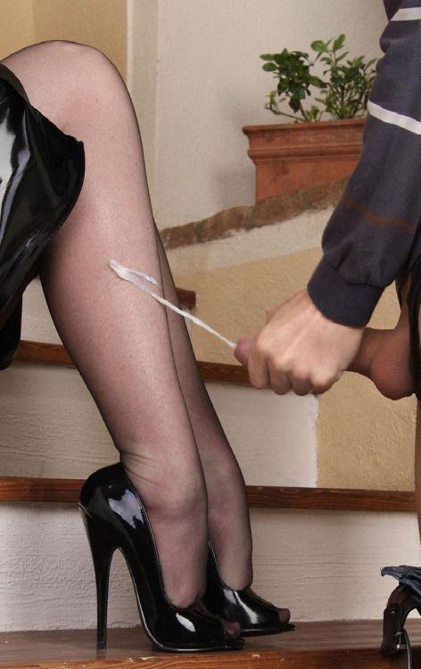Love pump spunk into wifes pantied ass nice