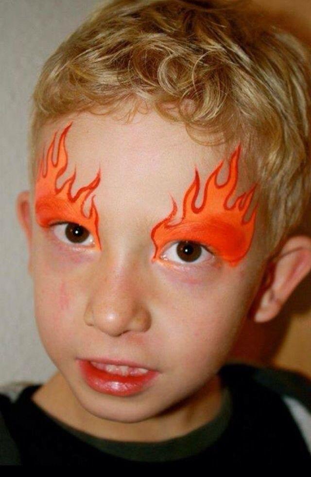 M s de 25 ideas incre bles sobre maquillaje diabla en for Cara pintada diablo