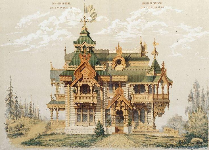 древнерусский стиль в архитектуре – 04