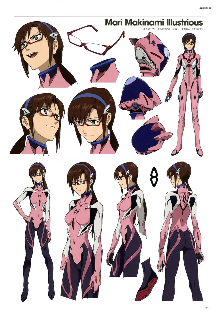 Character Design Studio : Character model — enderman misato and ritsuko omg