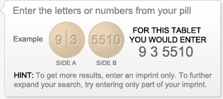 Pill Identifier from drugs.com. Site has drug interaction link and more
