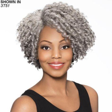 Joyce Wig by Cunning Silver®