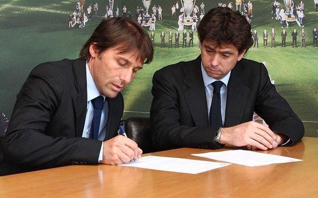 Antonio Conte Firma il Rinnovo Fino al 2018. L'annuncio alla Festa del Terzo Scudetto #juventus #conte #rinnovo #allenatori