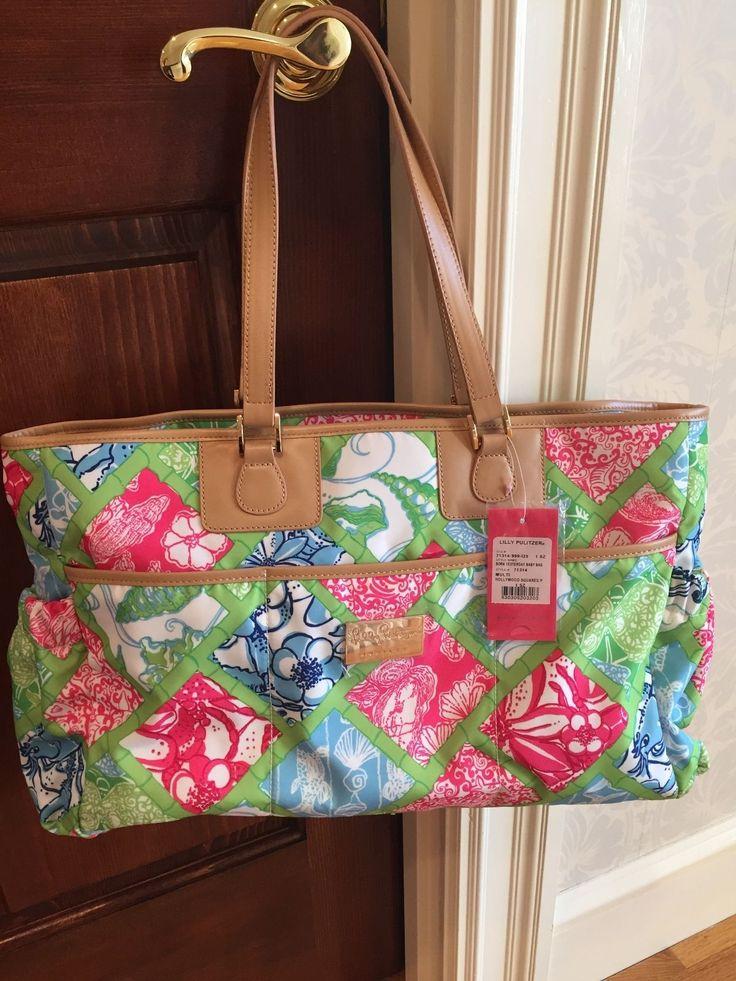 Lilly Pulitzer Diaper Bag NWT!!! | eBay