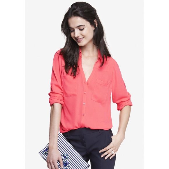 35 Best Wtw Coral Button Down Shirt Images On Pinterest