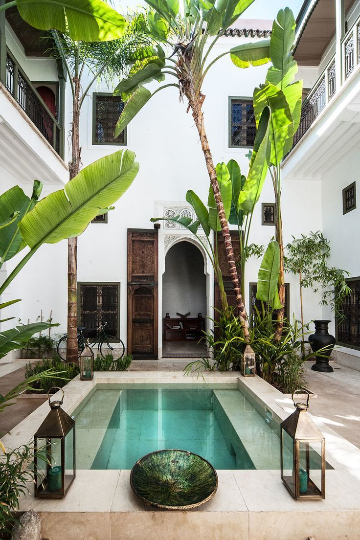 Riad jaaneman marrakech h tels design boutique for Boutique piscine