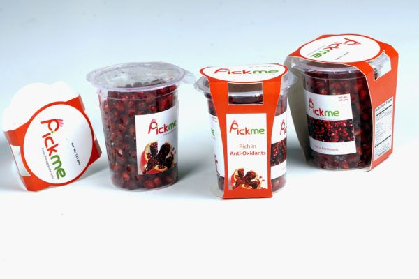 Exporters of Fresh pomegranate Arils.Ready to eat Pomegranate