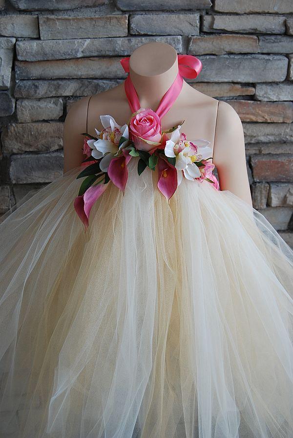 Tropical Beauty Tutu Dress-