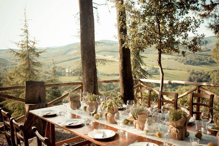 David Bastianoni photographer - Castello di Meleto - welcome dinner in our pic nic area