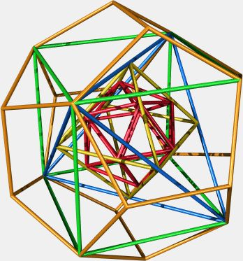 Nested Platonic Solids