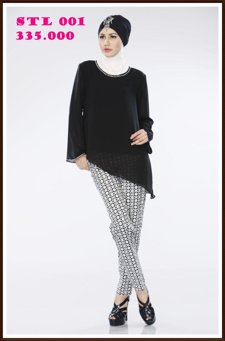 Stelan blus dan celana simple dan Berkualitas