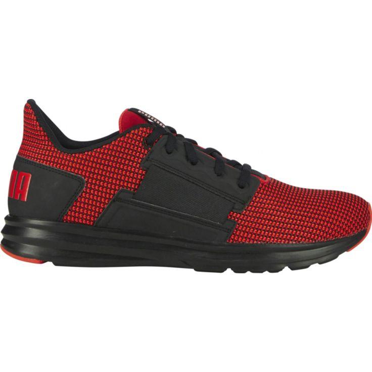 Basket Puma Enzo Street KNIT pour Homme. Chaussure au look audacieux qui offre un confort optimal. Une sélection Go Sport.