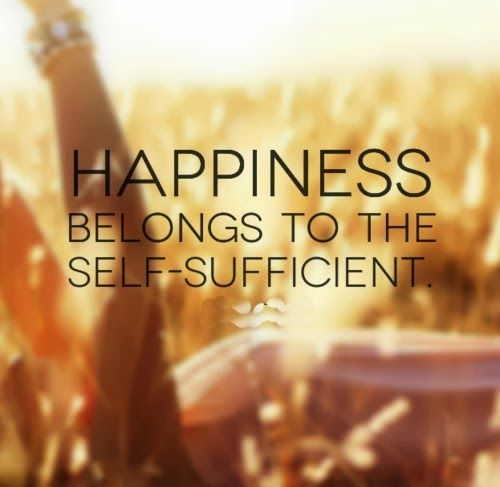 Happiness belongs to the self-sufficient. #Happiness #Life #Quotes
