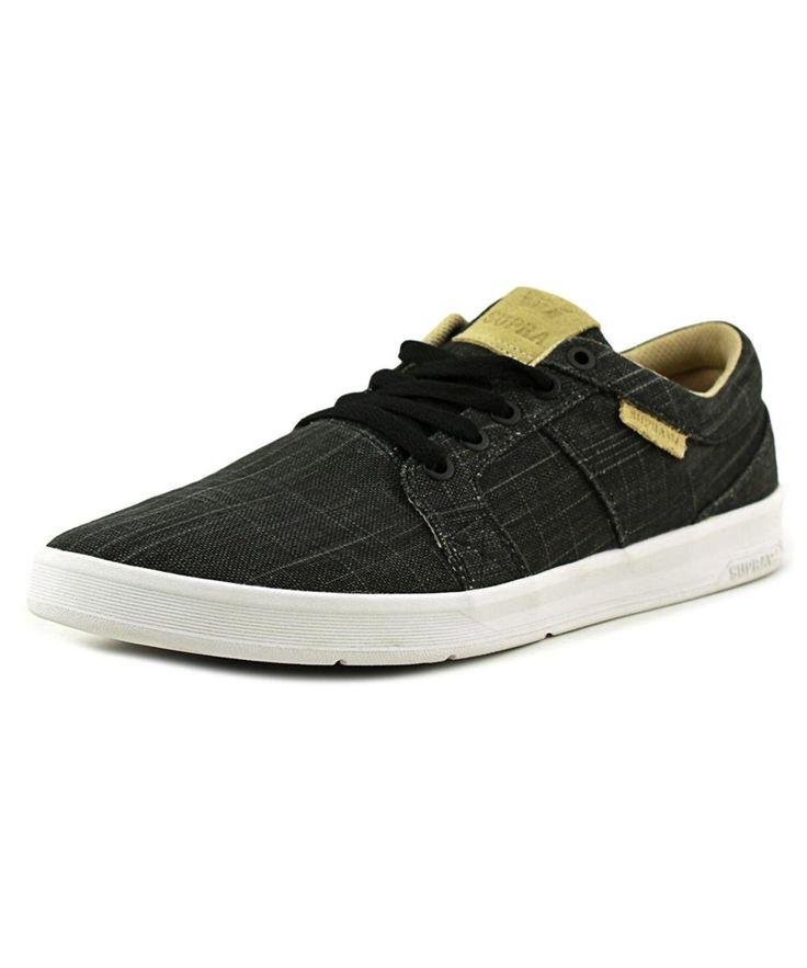 Zapatos negros SUPRA Ineto para hombre ikPXaS1upc