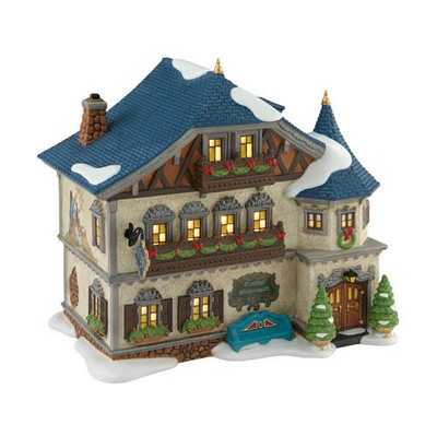 Gasthof Mittenwald (Guest House) retired 2012 (need this piece): Christmas Corner, Christmas Village, Coupon Village, 56 Gasthof, Gasthof Mittenwald, Christmasalpin Village, Guest Houses, Department 56, Village Department