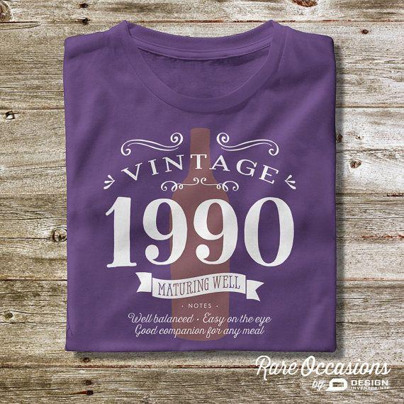 25th Birthday 1990 Birthday 25th Birthday Gift by RareOccasions