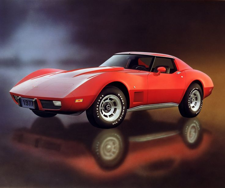 Corvette History 9/20 - The 1977 Corvette offered few new options, but it did have an eight track tape player with an AM-FM stereo.