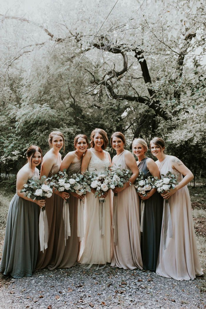 Striped Bridesmaid Dresses Ugly