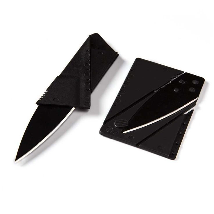 Credit card knife mini wallet outdoor pocket knife Hunting camping kitchen hand tool knife sharp portable survival folding knife