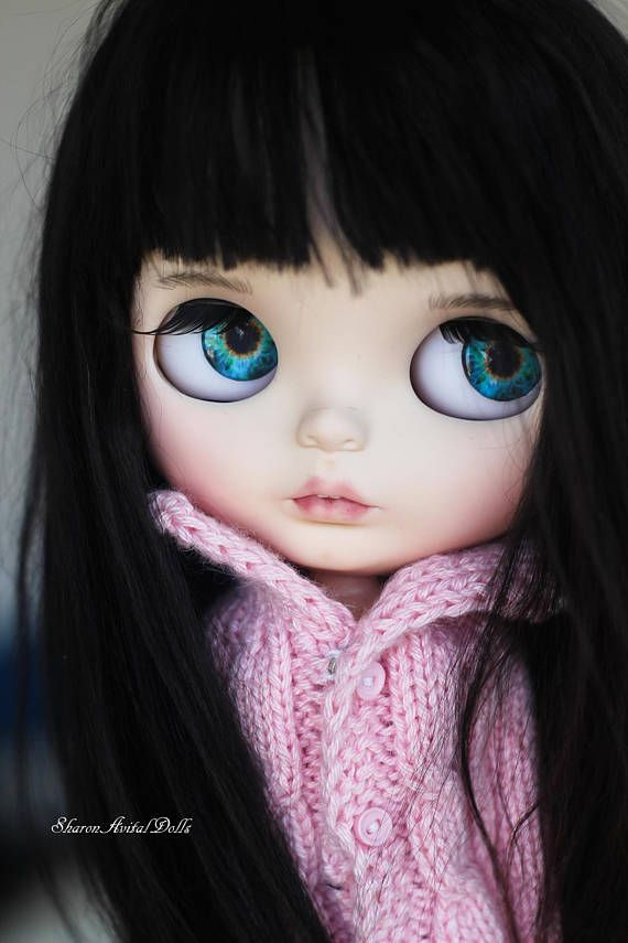 REDUCED OOAK custom Blythe doll by Sharon Avital - 'Lona'