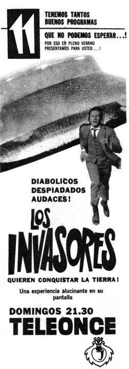 Publicidad programación CANAL 11, Buenos Aires, década del 60.