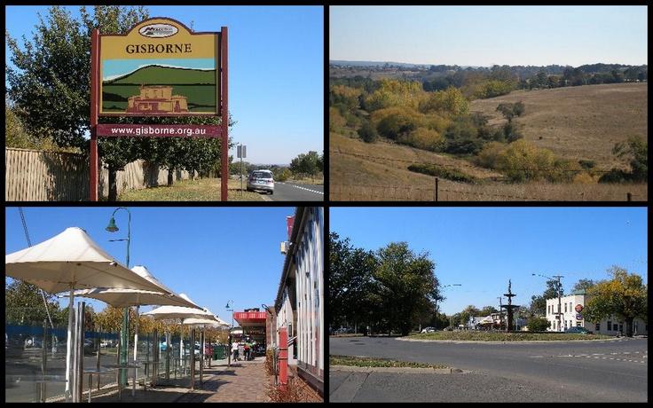 Small country town of Gisborne Victoria Australia...2011