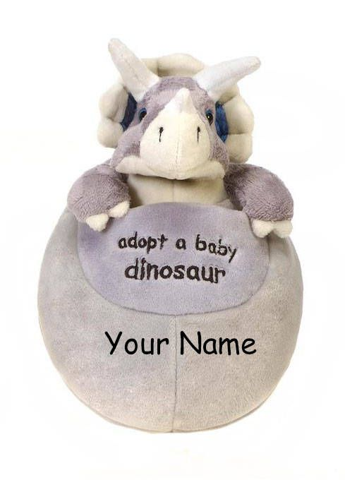 We are excited to share the latest addition to our Knextion Etsy shop: Personalized Adopt a Baby Dinosaur Triceratops Hatching Egg Plush Toy! Perfect for your biggest dinosaur fan! #dinosaur #customtoy #embroidery #boys #girls #plushtoy #dinosaurbirthday #adopt