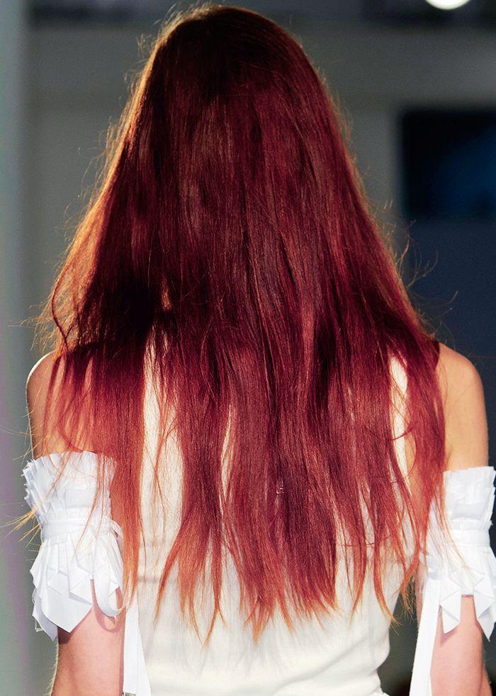 """""""Sangria Hair"""" Is the Magenta Hair Color We're Seeing ..."""