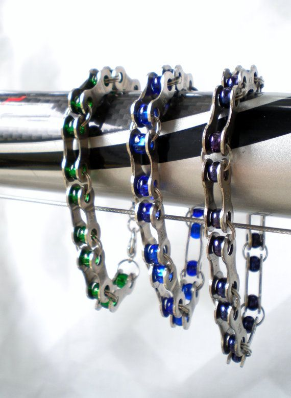 Hey, I found this really awesome Etsy listing at http://www.etsy.com/listing/151162487/bicycle-jewelry-bicycle-chain-link-and