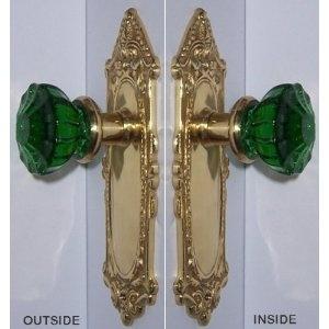 123 best Crystal & Glass Door Knobs etc images on Pinterest | Glass ...