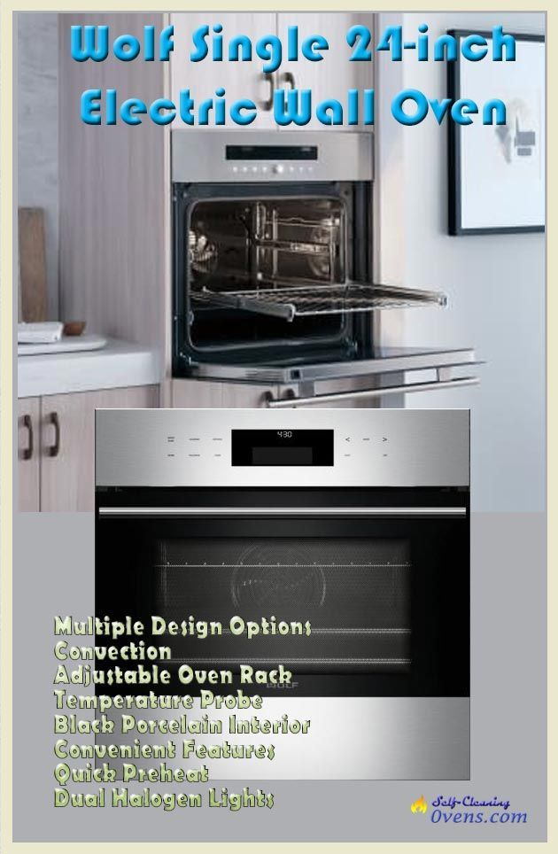 Wolf E Series Single Wall Oven So24testh Self Cleaning Wall Oven Electric Wall Oven Oven