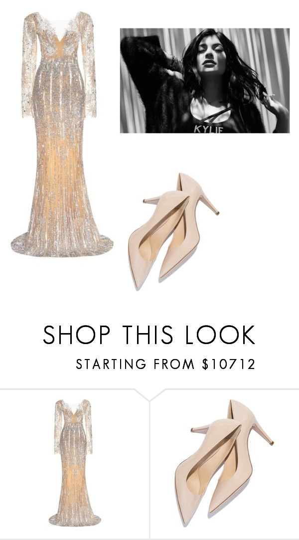"""hi"" by escarletmix14 on Polyvore featuring moda, Zuhair Murad, women's clothing, women's fashion, women, female, woman, misses y juniors"
