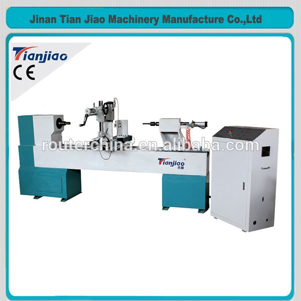 Hobby Wood Stair CNC Lathe Baseball Bats Making Machine For Sale
