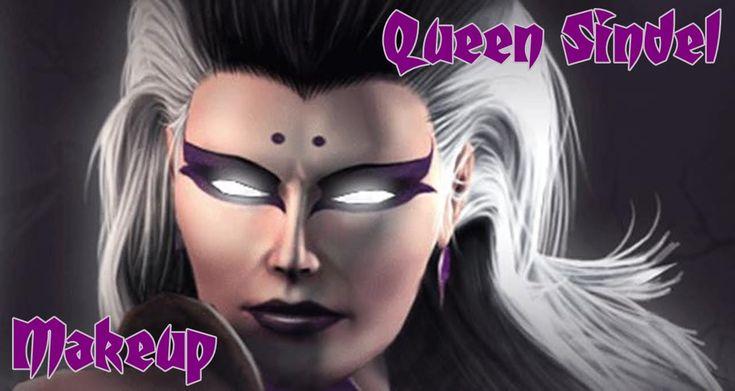 Mortal Kombat: Sindel (Pedido Miih Shiranui) makeup - By Lady Death