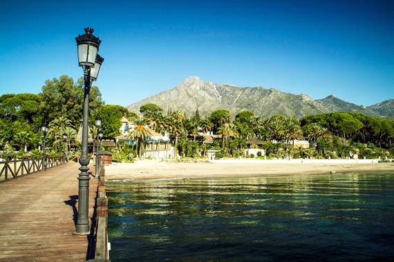 What beach of Marbella is this? Click on pic.