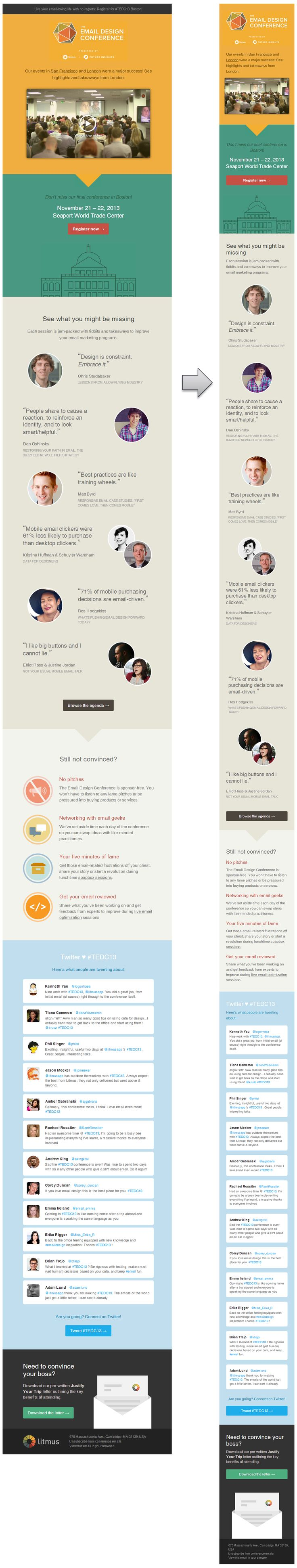 Responsive Email Design from Litmus