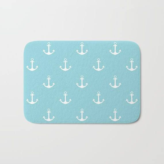 Nantucket Summer Collection: Nautical Bath Mat Nautical