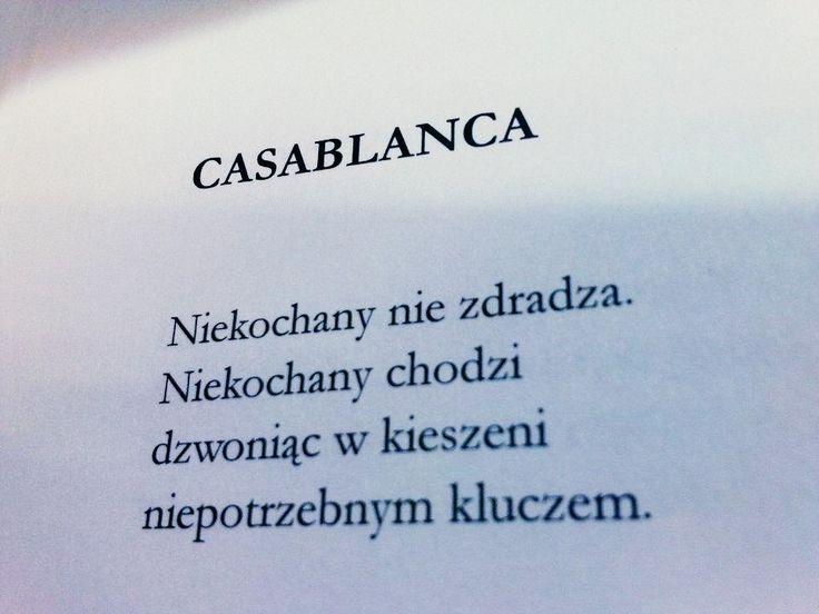 Marcin Świetlicki / Casablanca