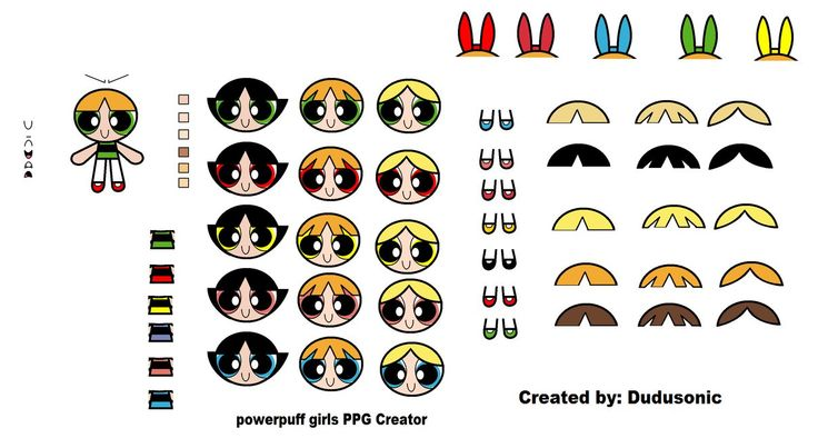 Powerpuff Girls Creator by Dudusonic