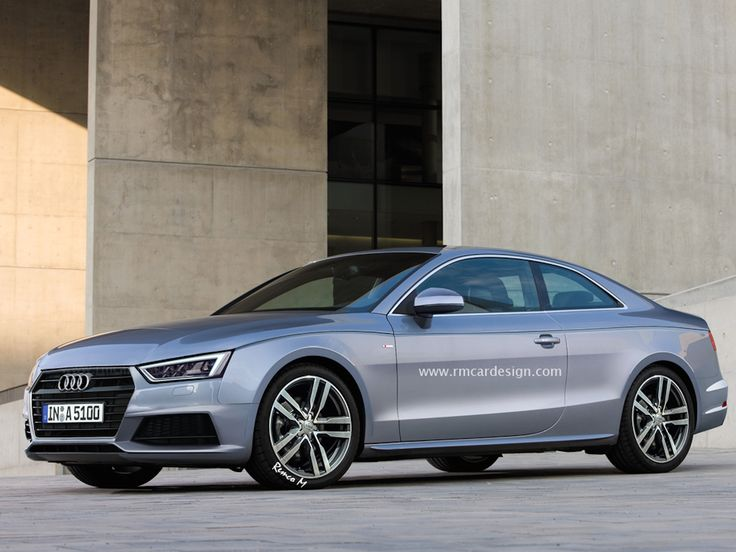 2016 Audi A5 rendered in production guise