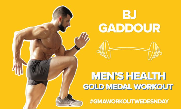 'Workout Wednesday' on 'GMA': Men's Health's BJ Gaddour Leads an Olympics-Inspired Live-Stream Workout - ABC News