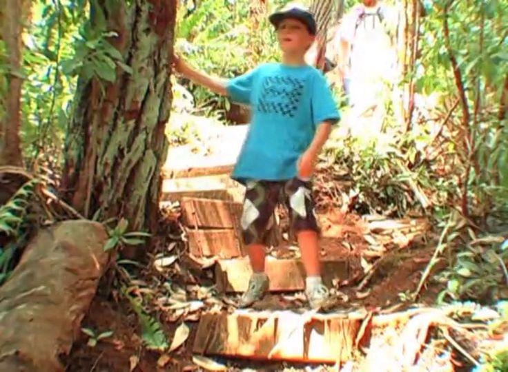 Kalihiwai Falls Hike Web