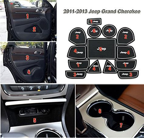 Moonet Heavy Duty Non-Slip Interior Door Cup Mat Fit Jeep Grand Cherokee 14pcs White with Luminous - http://www.caraccessoriesonlinemarket.com/moonet-heavy-duty-non-slip-interior-door-cup-mat-fit-jeep-grand-cherokee-14pcs-white-with-luminous/  #14Pcs, #Cherokee, #Door, #Duty, #Grand, #Heavy, #Interior, #Jeep, #Luminous, #Moonet, #Nonslip, #White #Jeep-Parts-Accessories