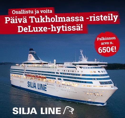 Voita kahden hengen Silja Line -risteily Tukholmaan DeLuxe-hytissä: https://secure.emp.fi/com_3035_participate/?wt_mc=sm.pin.fp.silja-kilpailu.15032016