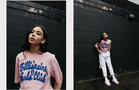 Billionaire Girls Club enlists Vicky Grout to shoot latest collection on the streets of East London