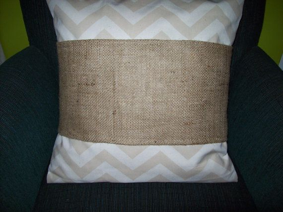 Blank Decorative Pillow Covers : for 22 inch pillows-Wholesale 4 pcs Burlap Pillow Wraps BLANK with velcro closure Burlap ...