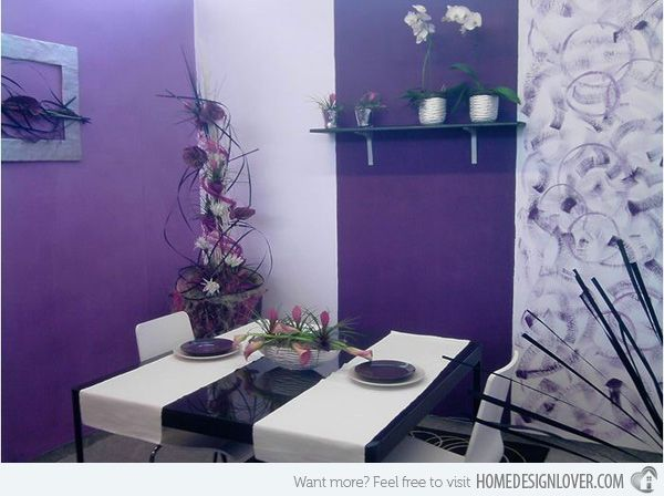 The 25+ best Purple dining rooms ideas on Pinterest | Purple ...